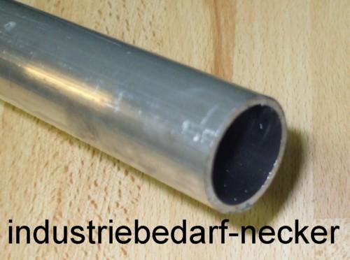 alu aluminium rundrohr almgsi0 5 profil rohr 20x2 mm schnittl nge 1m ebay. Black Bedroom Furniture Sets. Home Design Ideas