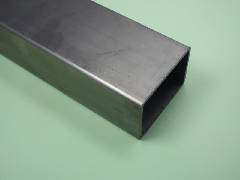 edelstahl rechteckrohr edelstahl v2a 40x60x2mm schnittl nge 210mm ebay. Black Bedroom Furniture Sets. Home Design Ideas